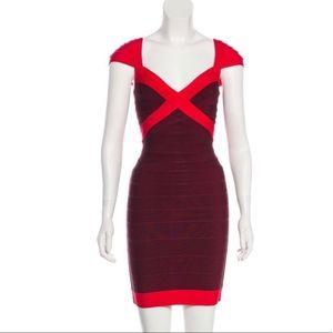 "Herve Leger ""Umeki"" bandage dress"
